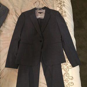 Women's dark grey Ann Taylor suit
